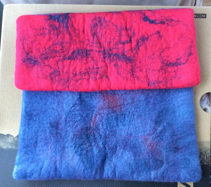 My latest wet felting creation