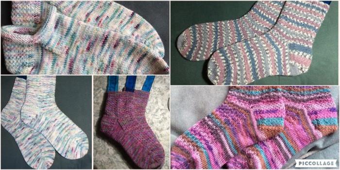 2019 Knitted socks