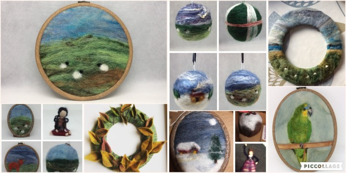 2019 Needle felted items