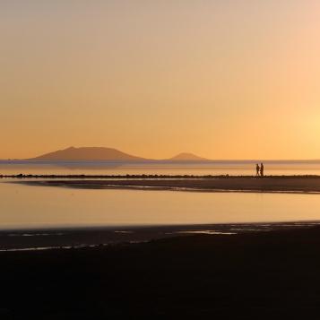 6_sunset walk on the salt